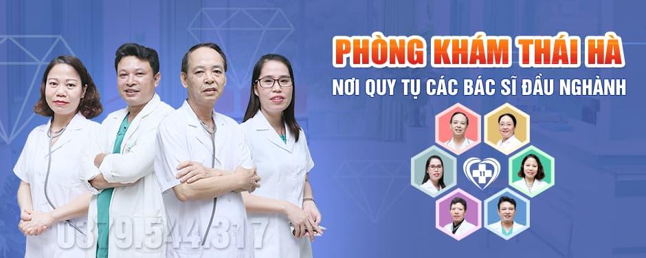Đội ngũ bác sĩ phòng khám đa khoa Thái Hà