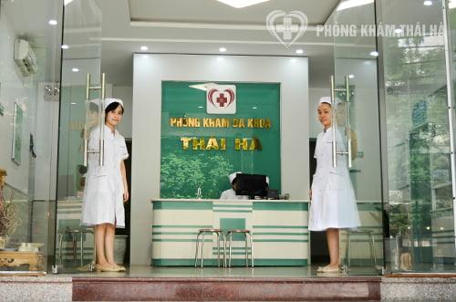 Chữa viêm lộ tuyến cổ tử cung tại phòng khám Thái Hà