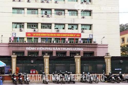 Bệnh viện Phụ sản Trung ương - Địa chỉ khám phụ khoa tốt