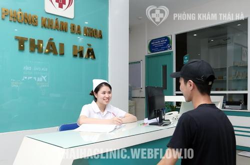 Chi phí khám nam khoa tại phòng khám Thái Hà