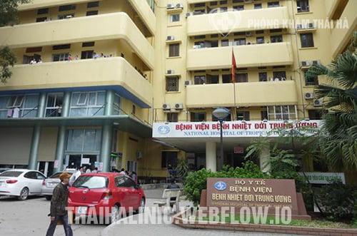 Bệnh viện nhiệt đới trung ương- địa chỉ xét nghiệm bệnh xã hội chính xác