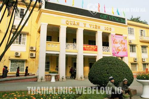 Bệnh viện quân y 103 - địa chỉ khám bệnh xã hội uy tín ở Hà Nội