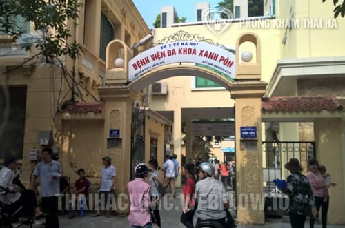 Phòng khám đa khoa bệnh viện Xanh Pôn