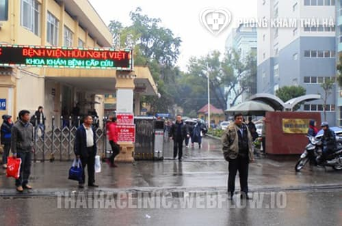 Phòng khám đa khoa bệnh viện Việt Đức