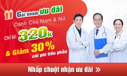 Nhận ngay ưu đãi giảm 30% chi phí chữa sùi mào gà ở nữ