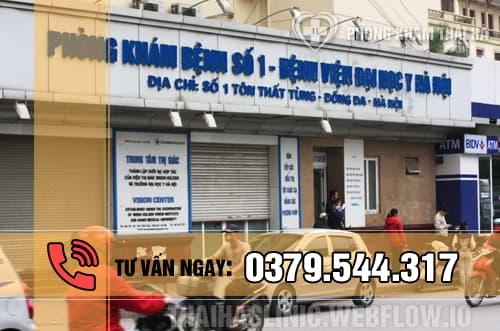 Khám sức khỏe sinh sản tại phòng khám số 1 đại học y Hà Nội
