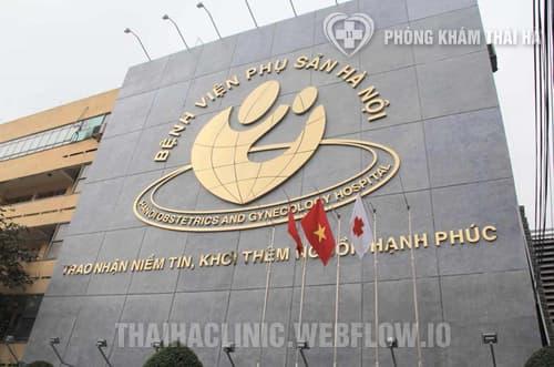Khám vô sinh tại Bệnh viện phụ sản Hà Nội