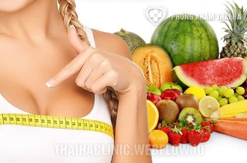 Chế độ dinh dưỡng giúp tăng vòng 1 ở tuổi dậy thì