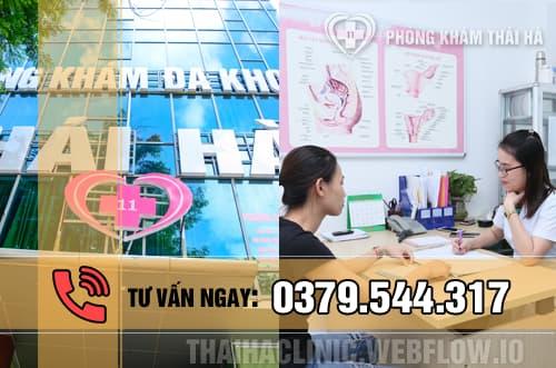 Phá thai an toàn ở phòng khám Thái Hà