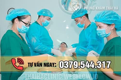 Phẫu thuật điều trị viêm vùng chậu