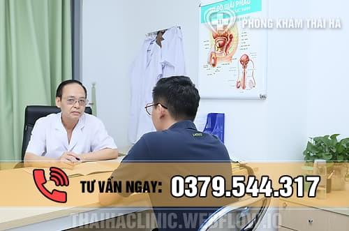 Chữa xuất tinh ra máu ở phòng khám Thái Hà
