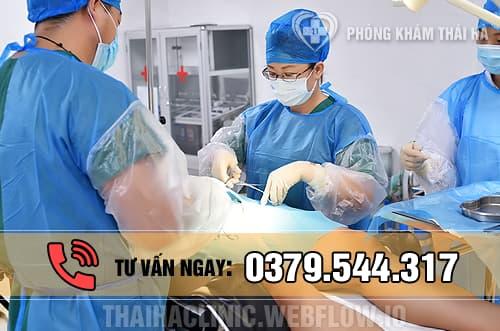 Phẫu thuật cắt dài bao quy đầu tại phòng khám Thái Hà