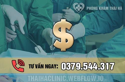 Chi phí phẫu thuật mổ trĩ hết bao nhiêu tiền?