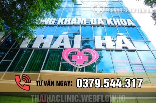 Thai Ha Clinic ( phòng khám đa khoa Thái Hà ) là địa chỉ khám, xét nghiệm và chữa trị bệnh xã hội uy tín ở Hà Nội