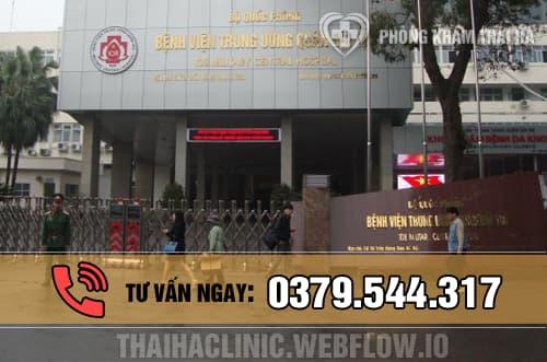 Bệnh viện TW Quân đội 108 - bệnh viện xét nghiệm HPV