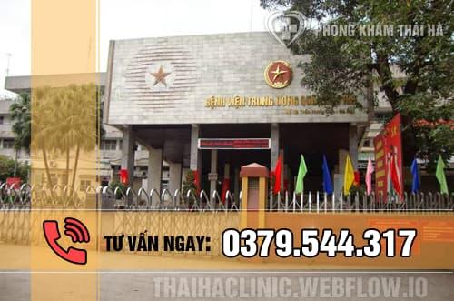 Địa chỉ chữa liệt dương uy tín - bệnh viện Trung ương Quân đội 108