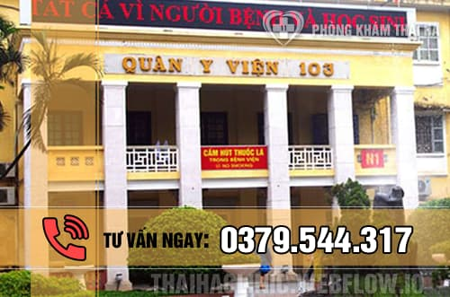 Hút thai ở đâu an toàn tại Hà Nội - bệnh viện Quân y 103