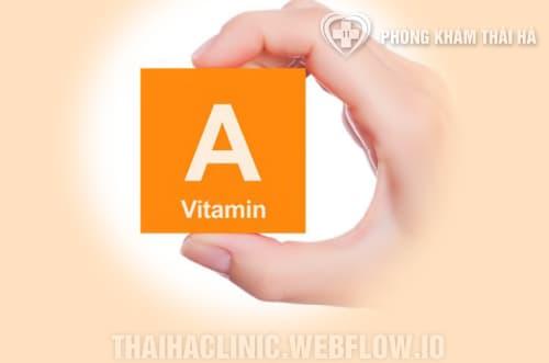 Vitamin A là là một loại vitamin tan trong chất béo, không tan trong nước