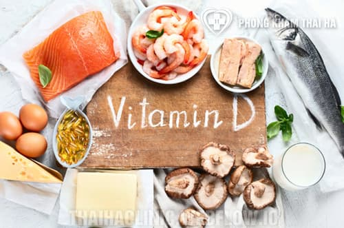 Các loại thực phẩm chứa vitamin D