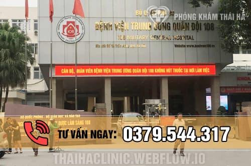 Khám viêm bao quy đầu ở bệnh viện Trung ương Quân đội 108