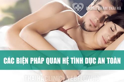Các biện pháp quan hệ tình dục an toàn