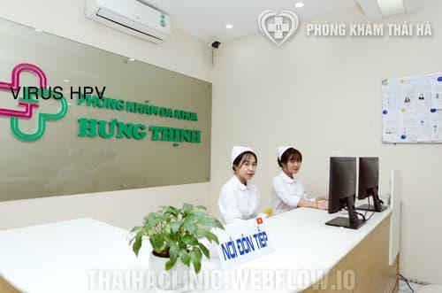 Chữa mụn rộp sinh dục tại phòng khám đa khoa Hưng Thịnh
