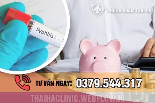 Chi phí xét nghiệm, khám và chữa trị bệnh giang mai hiện nay