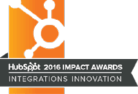 2016 hubspot impact award winners for integrations innovation award