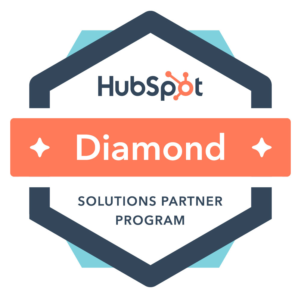 hubspot partner agencies diamond badge