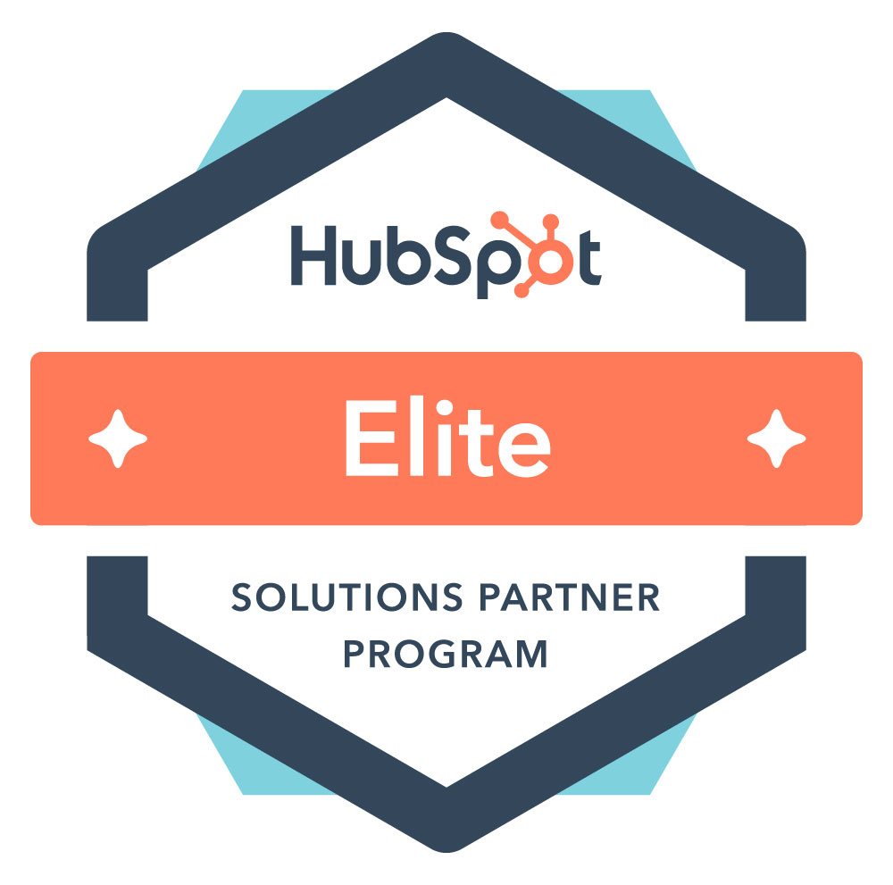 hubspot partner agencies elite badge