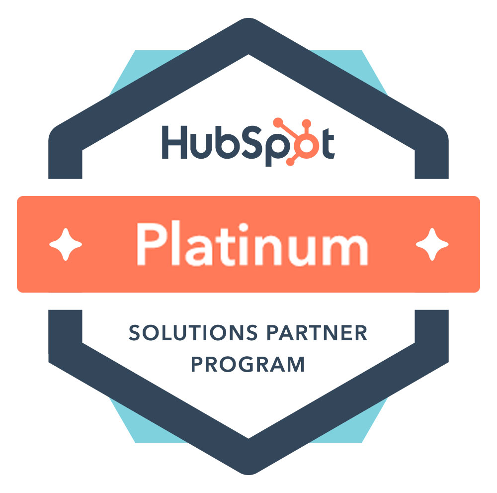 hubspot partner agencies platinum badge