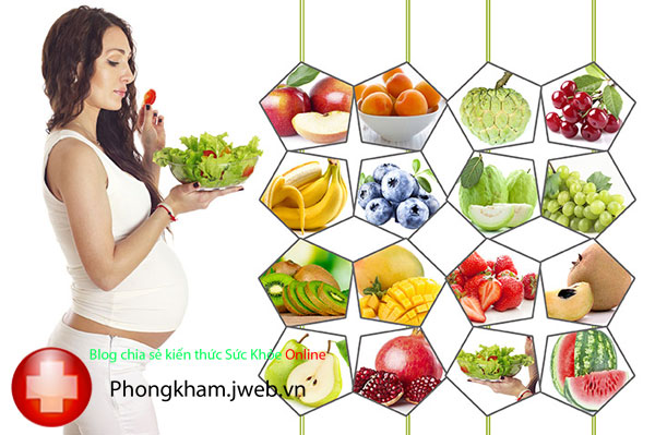 Một số lưu ý về dinh dưỡng khi mang thai 3 tháng đầu