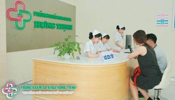 Khám chữa bệnh viêm đường tiết niệu tại phòng khám đa khoa Hưng Thịnh