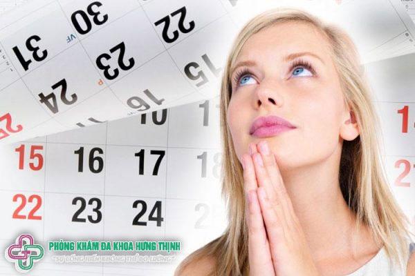Bị chậm kinh bao nhiêu lâu thì có thai?