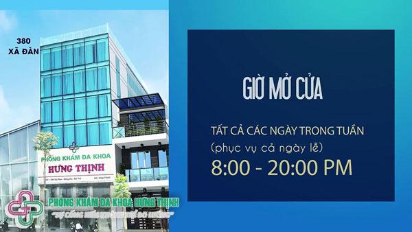Phòng khám bệnh phụ khoa uy tín ở Hà Nội