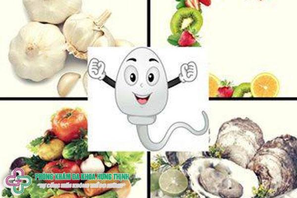 Tinh trùng yếu ăn gì cho tốt?