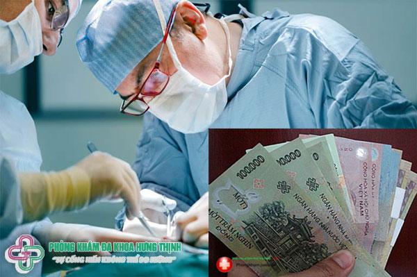 Chi phí phẫu thuật bệnh trĩ hết bao nhiêu tiền?
