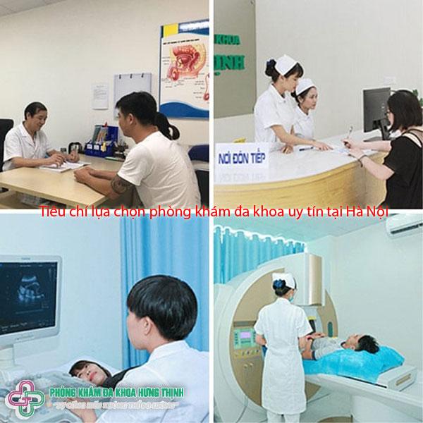 Tiêu chí để lựa chọn một phòng khám đa khoa uy tín tại Hà Nội là gì?