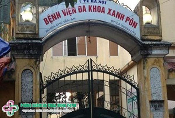 Bệnh viện đa khoa Xanh Pôn Hà Nội