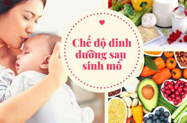 Phụ nữ sau sinh mổ ăn gì để nhanh chóng hồi phục sức khỏe?