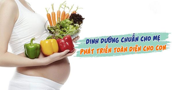 Những dưỡng chất cần thiết cho bà bầu khi mang thai 3 tháng đầu