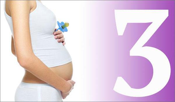 Mang thai tháng thứ 3 cần làm gì?