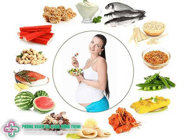 Mang thai từ 1 đến 40 tuần nên ăn gì?