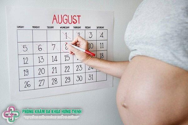 Mang thai bao nhiêu tuần thì sinh?
