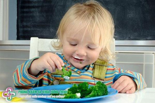 Rối loạn tiêu hóa ở trẻ nhỏ nên ăn gì?