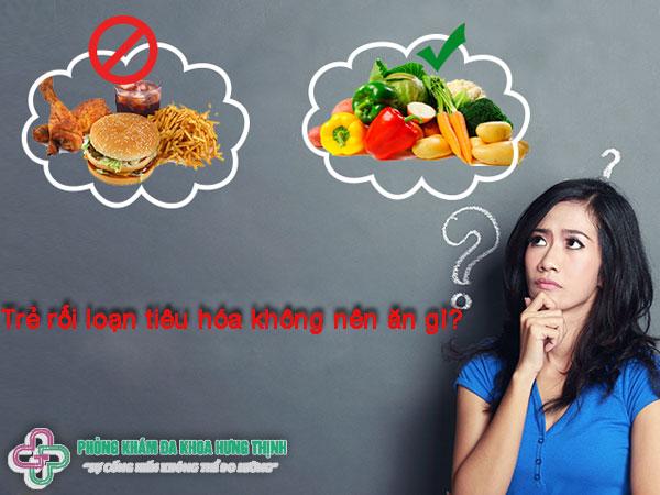 Trẻ rối loạn tiêu hóa không nên ăn gì?