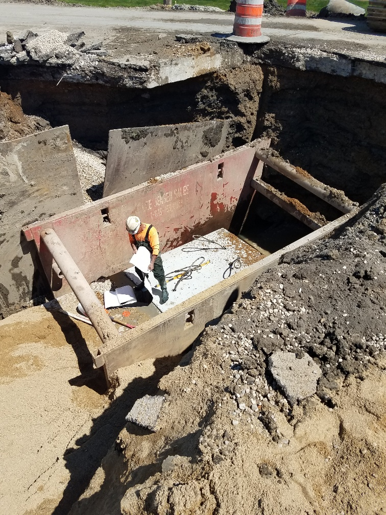 Box Culvert Installation on US Route 14