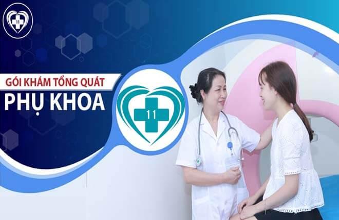 khám phụ khoa ở Thái Hà