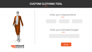Interactive Content for Clothing
