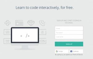 Codecademy Interactive